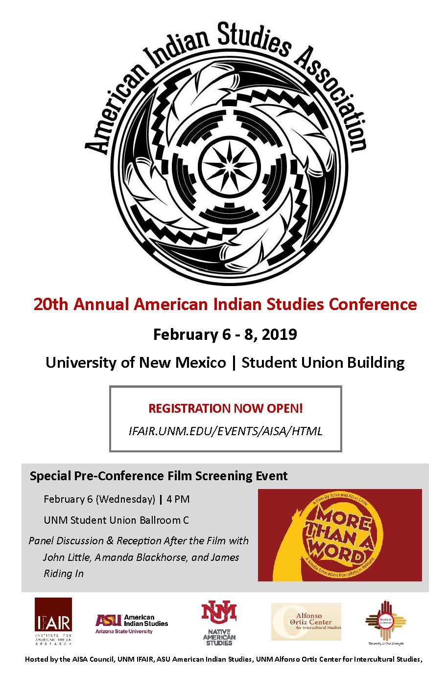 AISA Conference Flier